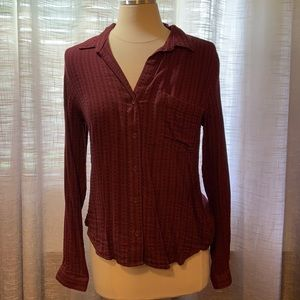 Anthropologie Cloth & Stone button down top